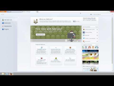 Firefox Setup + Browser Reset