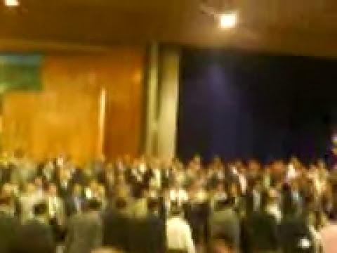 IECE entrada del Directivo General y Ministros