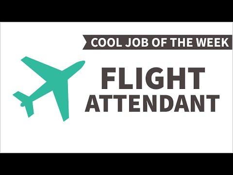 Cool Job of the Week: Flight Attendant