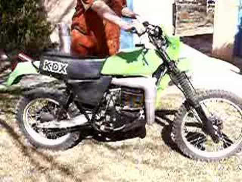1979 Kawasaki KDX 400 Video