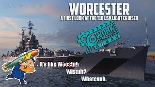 World of Warships Worcester Preview - Your First Look at the USN Cruiser Split T10 CL