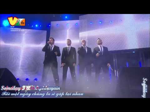 [vietsub] 17-i'll See You Again- You Raise Me Up (westlife- Where We Are Tour 2010) video