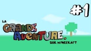 #1 La Grande Aventure sur Minecraft - L'ÎLE MYSTÉRIEUSE !