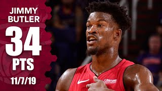 Jimmy Butler drops 30 points in the first half as Heat cruise past Suns | 2019-20 NBA Highlights