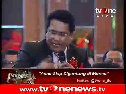 tvOne Anas Siap Digantung di Monas_Indonesia Lawyers Club 3of9