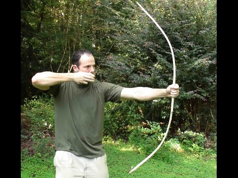 Making a Primitive Bow, Part 1.