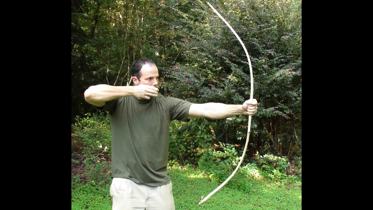 Making a primitive bow part 1 youtube - How to make a homemade bow and arrow out of wood ...