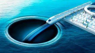¿Qué pasa si cavas un túnel bajo el océano?