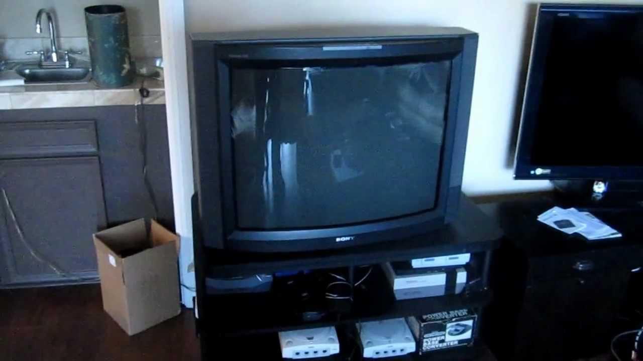 2012 A Retro Gaming Odyssey Sony Trinitron Xbr 32 Quot Crt
