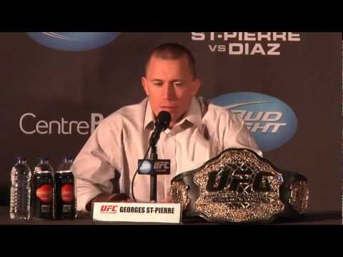 UFC 158: GSP vs Diaz Press Conference