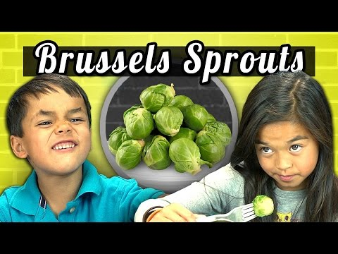 Kids Vs. Food - Brussels Sprouts video