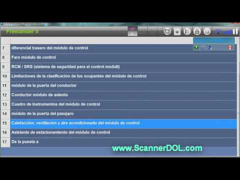Scanner DOL Diagnostic On Line con Autodata