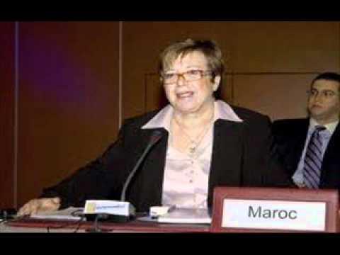 الوزيرة المغربية نزهة الصقلي هل لديك جوابا للشيخ