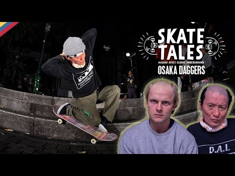 Meet One Of The Most Unique Skate Crews In Japan     SKATE TALES Ep 6