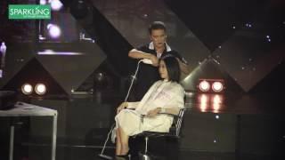 Đàm Vĩnh Hưng đem nghề cắt tóc lên sân khấu Én Vàng 2016 | Sparkling
