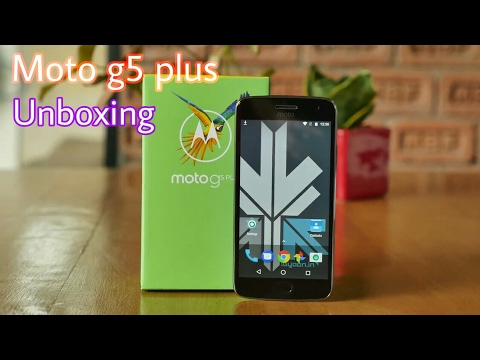 Motorola Moto G5 Plus Unboxing And First Look[32gb]