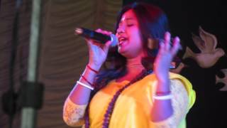Boul Song at Lalan Mela ,Femal artist from Bangladesh