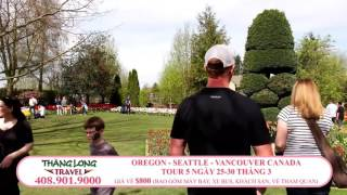 VIETV SFO COM THANG LONG TRAVEL TOUR OREGON SEATTLE CANADA HD 021416