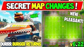 "*NEW* FORTNITE SECRET MAP CHANGES! WEEK 7 ""DURRR VS TOMATO HEAD"" (v6.22 Fortnite Season 6 Storyline)"