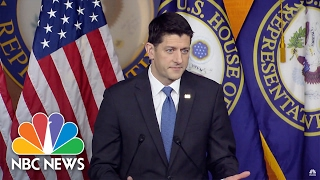 Paul Ryan: Source Of Michael Flynn, Russia Leaks Should Be Investigated | NBC News