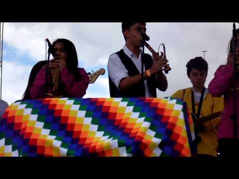 Mi travesía creación colectiva del Grupo Anchicayá. Colegio al Festival 2015