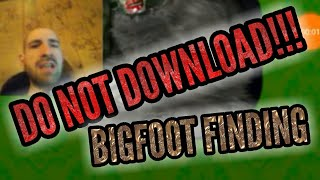 DO NOT DOWNLOAD!!! BIGFOOT FINDING | Free Mobile Game Android Google Play Gameplay Youtube YT Video