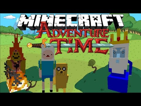 Minecraft: ADVENTURE TIME Finn and Jakes Adventure Part 1 1.6.2 Adventure Map