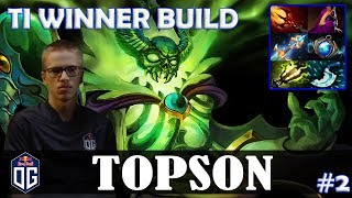Topson - Pugna MID | TI WINNER BUILD | Dota 2 Pro MMR Gameplay #2