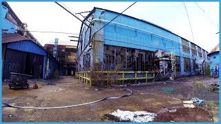 Mountain Biking Abandoned Warehouse in Chattanooga, TN // MTB Trail Rider
