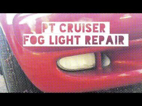 PT Cruiser fog light fix