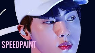 (BTS) JIN | SPEED-PAINT