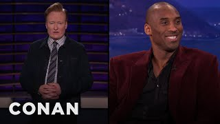 Conan Remembers Kobe Bryant - CONAN on TBS