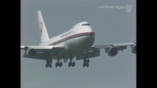[Old-Film] JL747-200B 初代鶴丸 JA8149