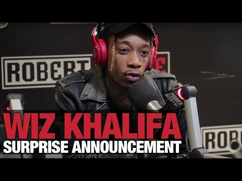 Wiz Khalifa Makes Surprise Announcement + Takes Over The Cruz Show