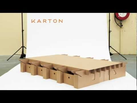 THE PAPERPEDIC BED - KARTON