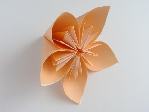 Origami Kusudama Flower Music Videos