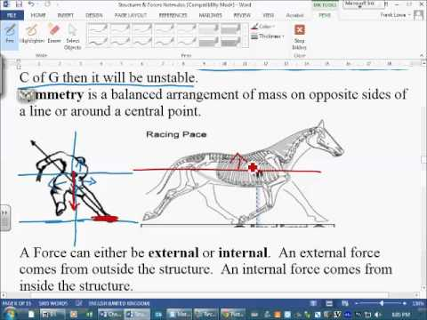 SF Section 3   Center of MassGravity, Internal and External Forces, Dynamic and Static Loads