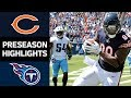 Bears vs. Titans | NFL Preseason Week 3 Game Highlights MP3