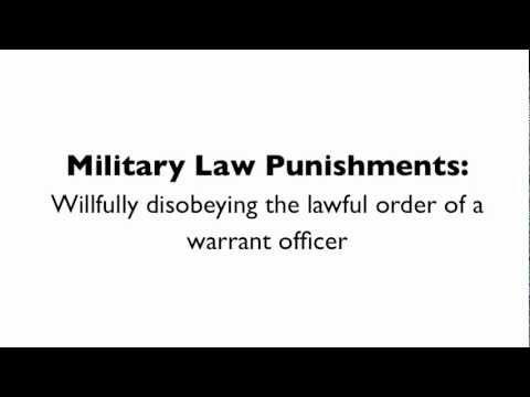 disobeying a lawful order in the military Coming in view of the growth of the police force as a para-military organisationo1   obey lawful orders, and a duty to disobey unlawn1 orders'¢ the lawfulness.