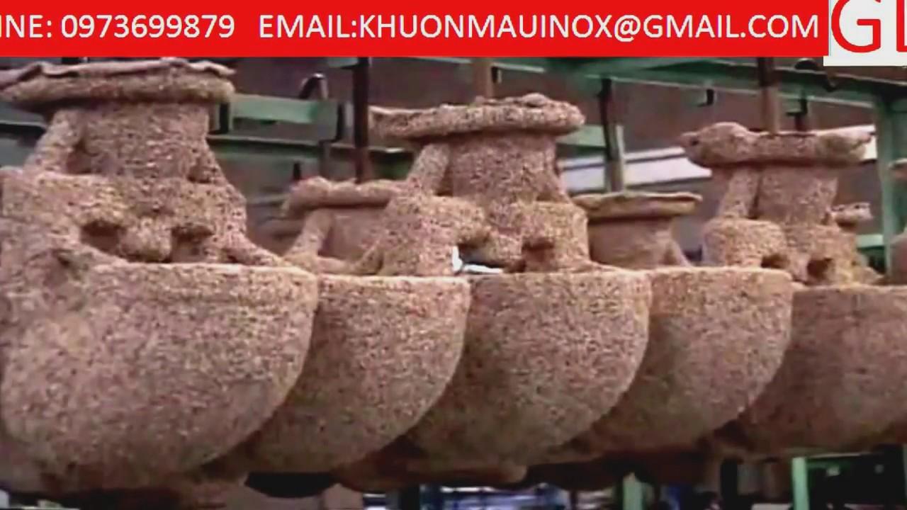 Khuon Dap Inox Đúc Inox Đúc Mẫu Chảy Khuôn