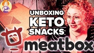 KETO Snacks Unboxing ???????? MeatBox Subscription Box Unboxing + Carnivore Friendly Food + DISCOUNT