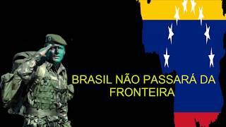 VENEZUELA:  BRASIL NÃO PASSARÁ DA FRONTEIRA