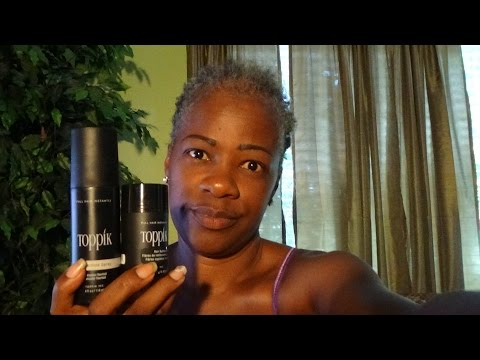 Review on Toppik Hair Product Results!!