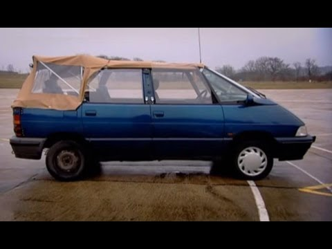 Renault Espace Convertible Challenge - Top Gear - BBC autos