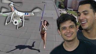 DRONES QUE FILMARAM O QUE NÃO DEVERIAM !!