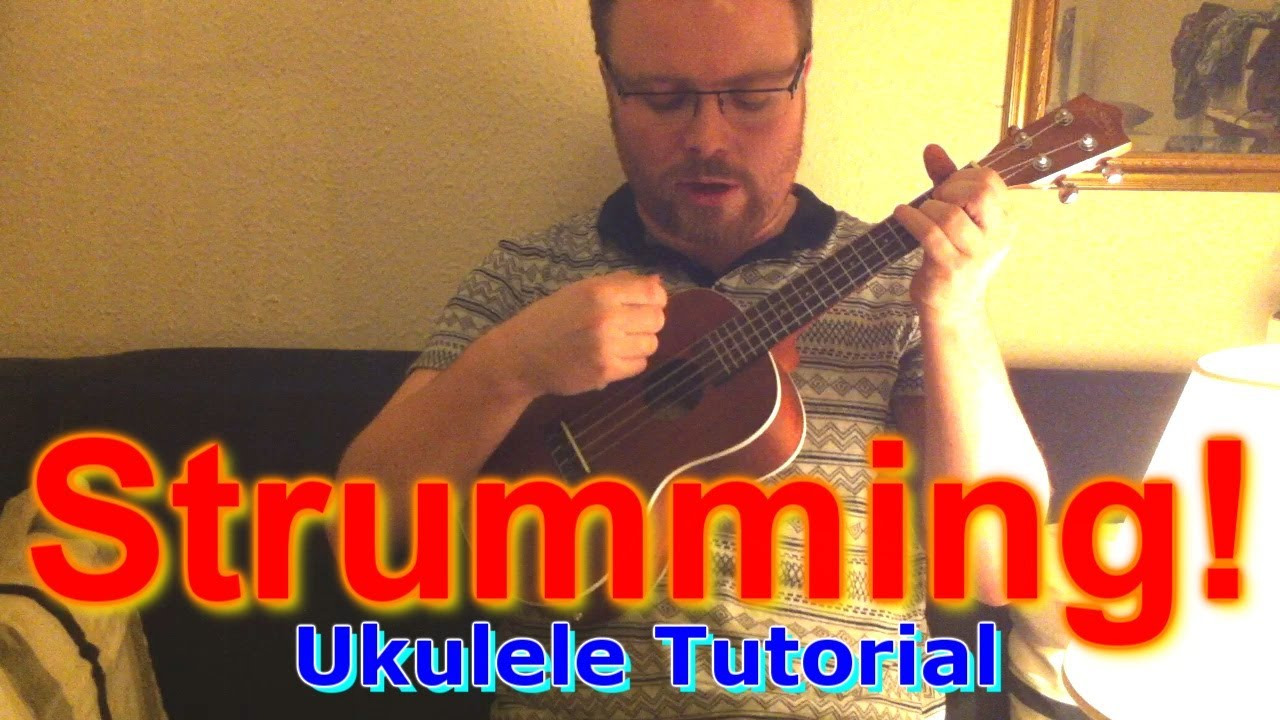 How To Strum A Ukulele YouTube
