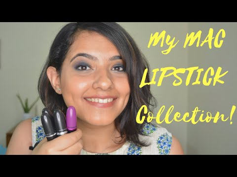 My MAC Lipstick Collection | I shouldn't be doing this!