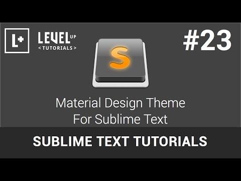 Download  Sublime Text Tutorials #23 - Material Design Theme For Sublime Text Gratis, download lagu terbaru