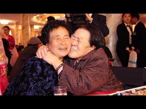 Emotional Scenes During Korea Reunions