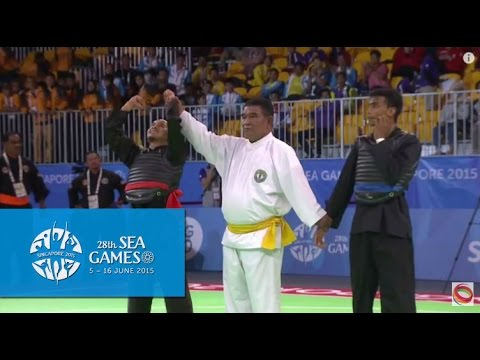 Pencak Silat Tanding Category Malaysia vs Thailand  (Day 6) | 28th SEA Games Singapore 2015